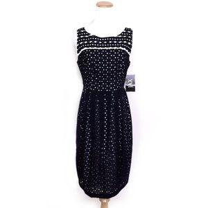 NWT JAX Sleeveless Sheath Dress